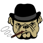 Augusto logo - Bulldogg